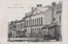 CPA Chémery - Hôtel De Ville Et Postes - France