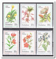 Zimbabwe 1989, Postfris MNH, Flowers - Zimbabwe (1980-...)