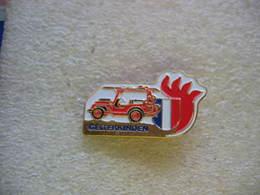 Pin's N° 285 Des Sapeurs Pompiers De La Ville Suisse De GELTERKINDEN - Bomberos