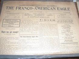 GUERRE 14-18 / FRANCO AMERICAN EAGLE / NEGRO HAS GOT ENOUGH / - US Army