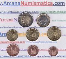 ESPAÑA /  SPAIN  Tira / Set  8 Monedas / Coins 2.018  2018  SC/UNC   T-DL-12.174 - Spain