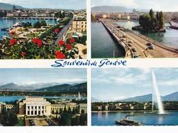 Postcard Geneva Multiview My Ref B22289 - GE Geneva