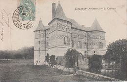 CPA Doumely - Le Château (avec Animation) - France