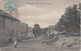 CPA Doumely - Grande-Rue (avec Animation) - France