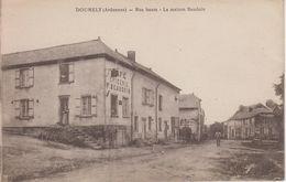 CPA Doumely - Rue Haute - La Maison Baudouin (Café-épicerie) - France