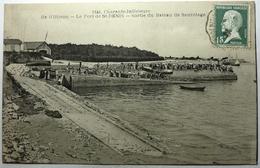 SORTIE DU BATEAU DE SAUVETAGE - LE PORT St DENIS - ILE D'OLÉRON - Ile D'Oléron