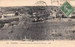 91 - CORBEIL - Panorama Pris Des Côteaux Du Perray - Corbeil Essonnes