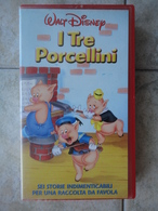 I Tre Porcellini - VHS - Walt Disney - Dessins Animés