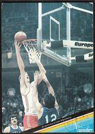 Germany Karlsruhe 1985 / Basketball / Sport / EUROBASKET '85 - Baloncesto
