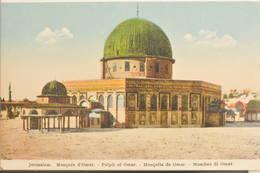 Jérusalem, 1920, Mosquée D'Omar, Pulpit Of Omar, Mezquita De Omar, Moschea Di Omar - Israel
