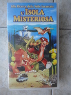 L'isola Misteriosa - VHS - Alla Ricerca Della Valle Incantata N. 5 - Universal - Cartoons