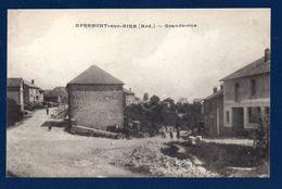 08. Apremont Sur Aire. Grande-Rue. Passants Et Cavalier - France