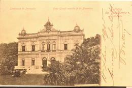 Petropolis, 1905, Palacio Do Presidente Do Estado Lembrança De Petropolis, Caza Graeff Avenide 15 De Novembre - Brésil