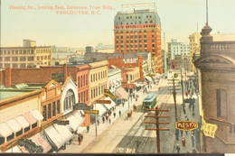 Vancouver, 1910, Hasting Str., Looking East, Dominion Trust Bldg. - Vancouver