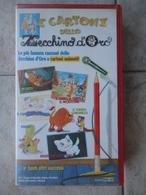 I Cartoni Dello Zecchino D'Oro - Le Più Famose Canzoni Dello Zecchino D'oro A Cartoni Animati - VHS - Cartoons