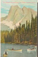 Canadian Rockies, 1910, Mt. Burgess, Emerald Lake, Near Field - Colombie Britannique