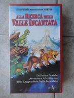 Alla Ricerca Della Valle Incantata N. 1 - VHS - Universal - Cartoons