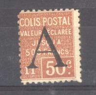 06836  -  France  - CP  :  Yv  84  **  GNO - Colis Postaux