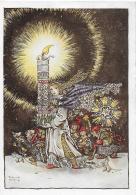AK 0845  Wülfing , Sulamith - Adventkerze / Künstlerkarte Um 1953 - Weihnachten