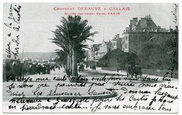 06 : NICE - PROMENADE DES ANGLAIS (CHOCOLAT DEBAUVE & GALLAIS, PARIS) - Autres