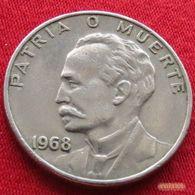 Cuba 20 Centavos 1968 KM# 31 - Cuba