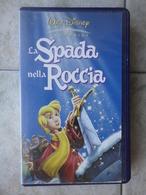 La Spada Nella Roccia - VHS - I Classici Walt Disney - Dibujos Animados