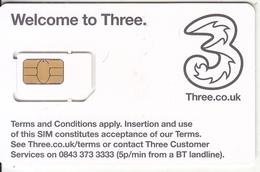 UK - Hutchison GSM, Chip 10, Mint - Regno Unito