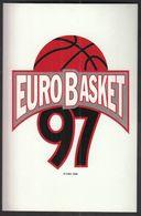 Spain 1997 / FIBA 30th European Basketball Championship Men / EUROBASKET 97 / Sticker - Apparel, Souvenirs & Other