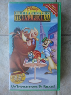Fuori A Cena Con Timon E Pumbaa - VHS - Disney - Dessins Animés