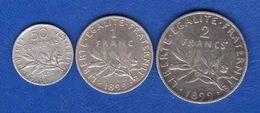 3  Pieces  1899 - France