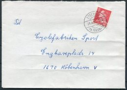 1970 Faroe Islands Cover Strendur (31,04) - Faroe Islands
