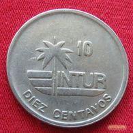 Cuba 10 Centavos 1989 KM# 415.2a - Cuba