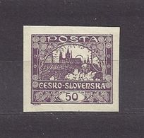Czechoslovakia Tschechoslowakei 1918 MNH ** Mi 19 Sc 30 Hradcany At Prague - Tschechoslowakei/CSSR