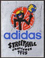 Basketball / ADIDAS STREETBALL CHALLENGE 1995 / Sticker - Apparel, Souvenirs & Other