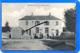 CPA 91 - MEROBERT - Mairie Et École - France