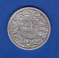 2  Fr  1903 - Switzerland