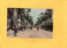 Carte Postale - NICE - D06 - Avenue De La Gare - Transport Ferroviaire - Gare