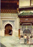 Fes - Fontaine Nejjarine - Marocco - Formato Grande Viaggiata – E 4 - Cartoline