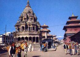 Patan Durbar Quare - Formato Grande Viaggiata – E 4 - Cartoline