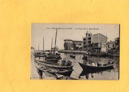 Carte Postale - PALAVAS Les FLOTS - D34 - Le Canal Et La Rive Droite - Palavas Les Flots