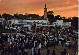 Tanger - Gran Socco - Big Market - Marocco - Formato Grande Viaggiata – E 4 - Cartoline