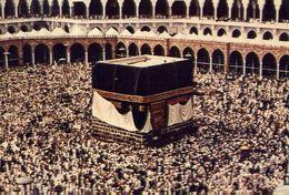 The Holy Ka'aba - Blessed Mecca - Formato Grande Viaggiata Mancante Di Affrancatura – E 4 - Cartoline