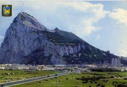 La Linea - Cadiz - Vista Del Penon  De Gibraltar - Formato Grande Viaggiata Mancante Di Affrancatura – E 4 - Cartoline