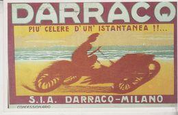 Pubblicitari Auto Car Darracq  Riproduzione Da Originale Serie De Agostini - Pubblicitari