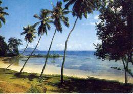 Petit Fort From Fisherman's Cov'e Hotel Mahe Seychelles - Formato Grande Viaggiata – E 4 - Cartoline
