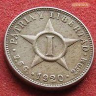 Cuba 1 Centavo 1920 KM# 9.1 - Cuba