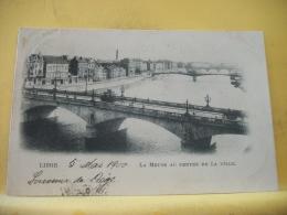 B16 8755 CPA 1900. LIEGE. LA MEUSE AU CENTRE DE LA VILLE (+ DE 20000 CARTES A MOINS 1 EURO) - Luik
