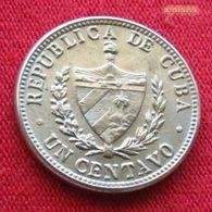 Cuba 1 I Centavo 1946 KM# 9.2   *V2 - Cuba