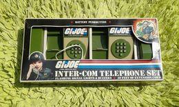 1982 GI-JOE ARAH Intercom Telephone Set In Box Hasbro Mehanotehnika Made In Yugoslavia Works - GIJoe