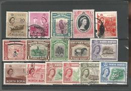 54857 ) Collection North Borneo Queen - Nordborneo (...-1963)